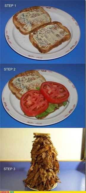 Making a BLT in 3 Easy Steps