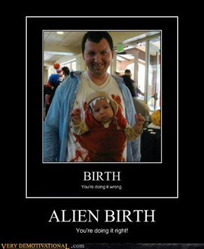 ALIEN BIRTH