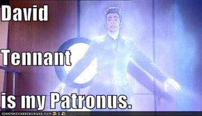 David  Tennant  is my Patronus.