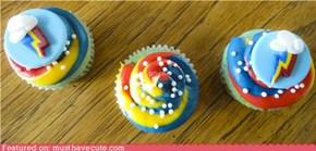 Epicute: Rainbow Dash Cupcakes