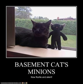 BASEMENT CAT'S MINIONS