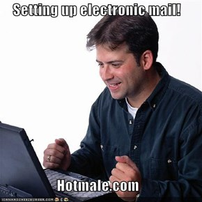 Setting up electronic mail!  Hotmale.com