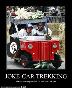 JOKE-CAR TREKKING