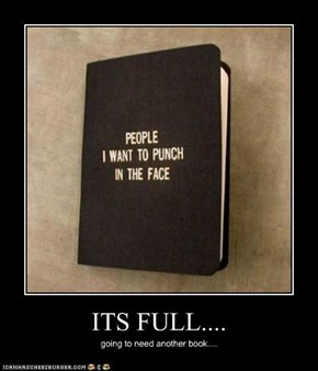 ITS FULL....