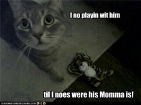Mommas ar scwary!
