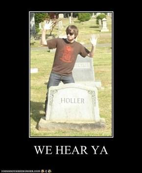 WE HEAR YA