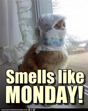 Smells like MONDAY!