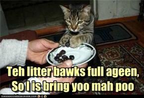 Teh litter bawks