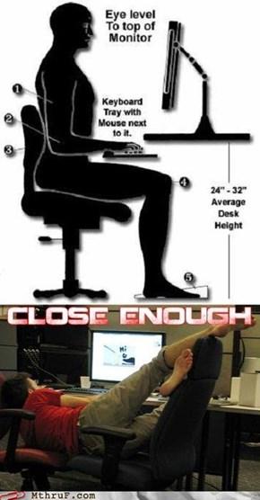 Yoga Ergonomics