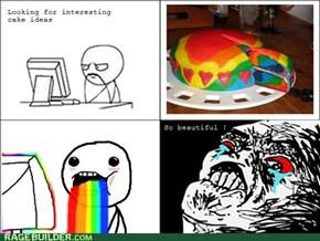 Rainbow in a rainbow!!!