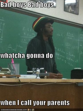 Rasta Prof: You Go To School and Learn the Golden Rule