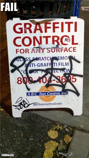 Graffiti Control FAIL