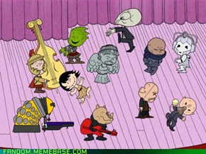 It's Whovian, Charlie Brown