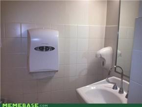 Bathroom Lurker: I'm Never Peeing Again