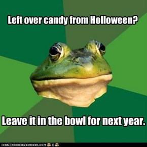 Left over candy from Holloween?