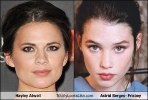 Hayley Atwell Totally Looks Like Astrid Berges- Frisbey