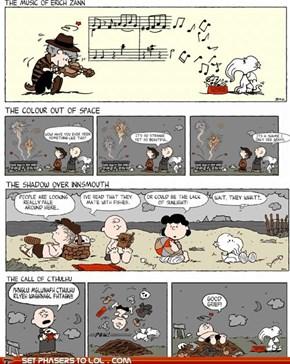 Charlie Brown Meets Cthulhu
