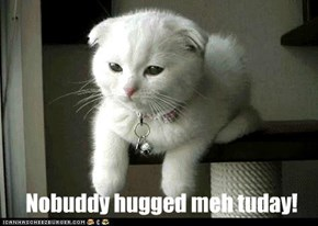 Has a sad!