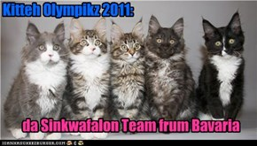 Get it? 5 kittehs=nawt triafalon silly, 5= sinkwafalon!