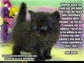 Still think black cats are evil?