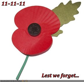 11–11–11                                     Lest we forget...
