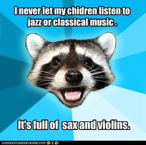 It Makes Lame Pun Coon Kind of Blue