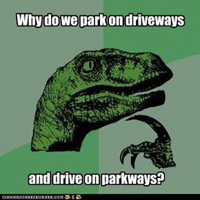 Why do we park on driveways,