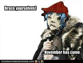 Brace yourselfs: Ooh ooh ooh