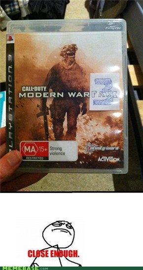 Call of duty modern warfare 2 or 3 aah its the same