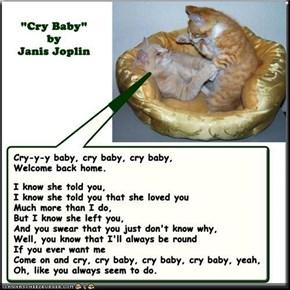 """Cry Baby"" by Janis Joplin"