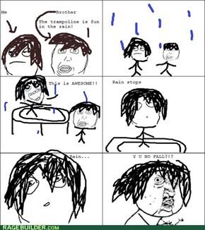 Darn You, Rain!