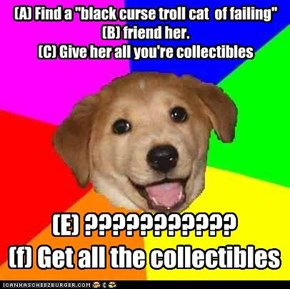 how to really get ALL the collectibles