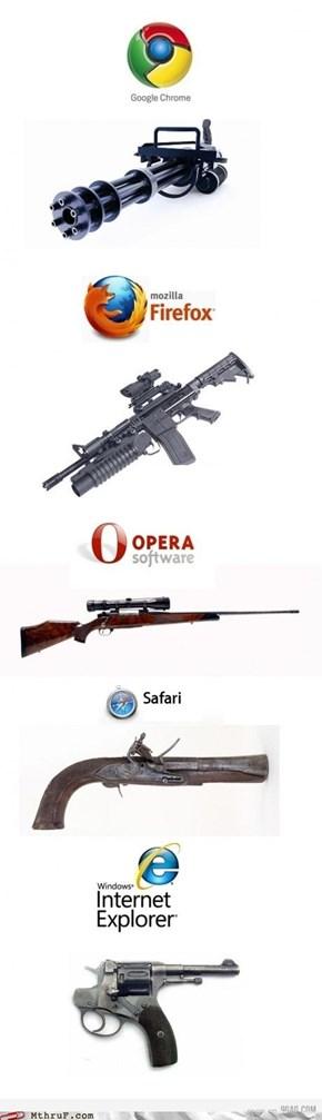 If the internet was a gun, it'd be an RPG-7