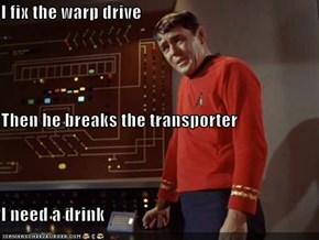 I Fix the Warp Drive