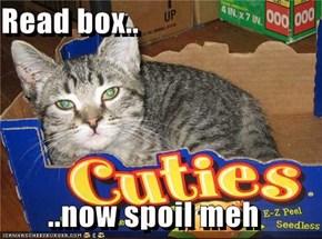 Read box..