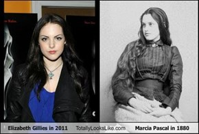 Liz Gillies Totally Looks Like Marcia Pascal