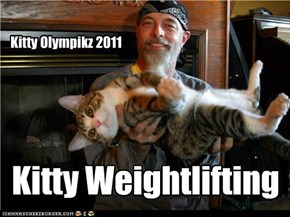 Kitty Weightlifting