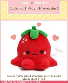 octofruit plush!