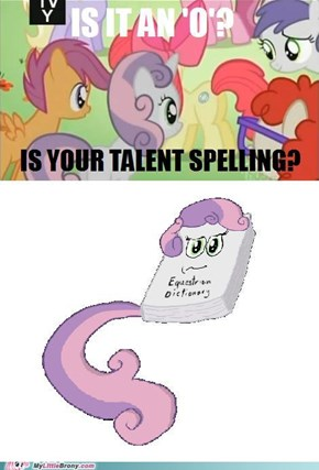 Because That's What I Want My Cutie Mark to Be