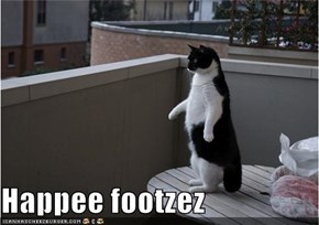 Happee footzez