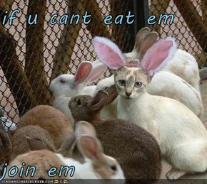 if u cant eat em   join em