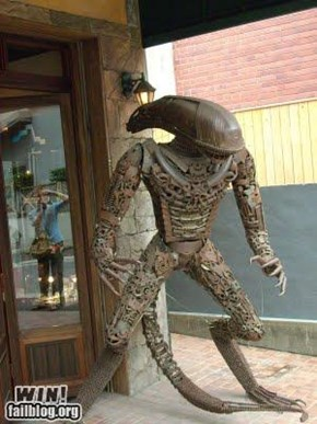 Scrap Metal Alien WIN