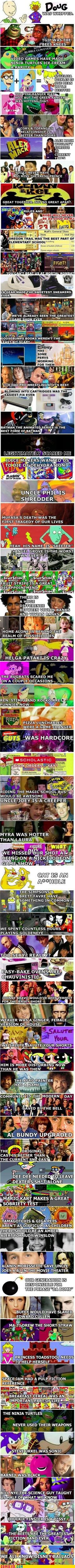 You Know You Grew Up in the 90s When...
