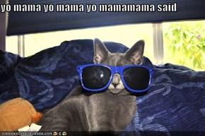 yo mama yo mama yo mamamama said