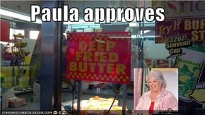 Paula approves