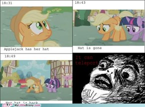 Applejack's Teleporting Hat