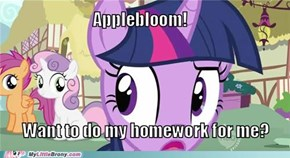 I'd be happy to, Twilight!