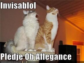 Invisablol   Pledje Ob Allegance