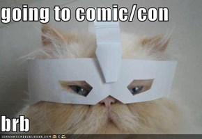 going to comic/con