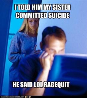 Net Noob: QQ Butthurt